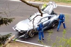 Первый спорткар Toyota Supra разбили во время тестовых испытаний
