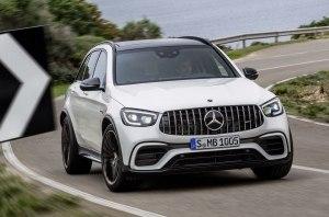 Mercedes-Benz обновил семейство «заряженных» кроссоверов GLC 63 4Matic+