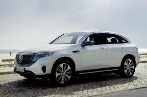 Mercedes-Benz представила особую версию электрического кроссовера EQC Edition