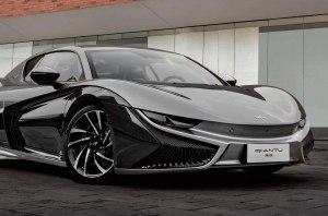 Mullen рассекретил свое электрическое спортивное купе Qiantu K50
