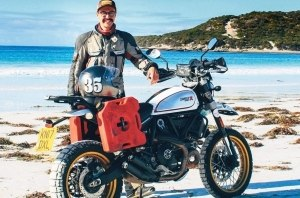 Мотоциклист Генри Крю вписал своё имя в книгу рекордов