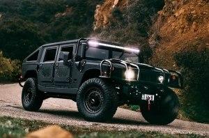 Американцы построили «трижды черный» 510-сильный Hummer H1