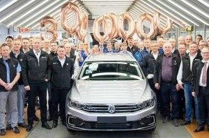 Volkswagen Passat стал самым продаваемым автомобилем среднего класса в мире